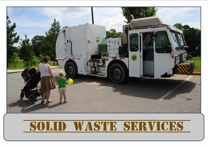 Solid Waste Service Truck
